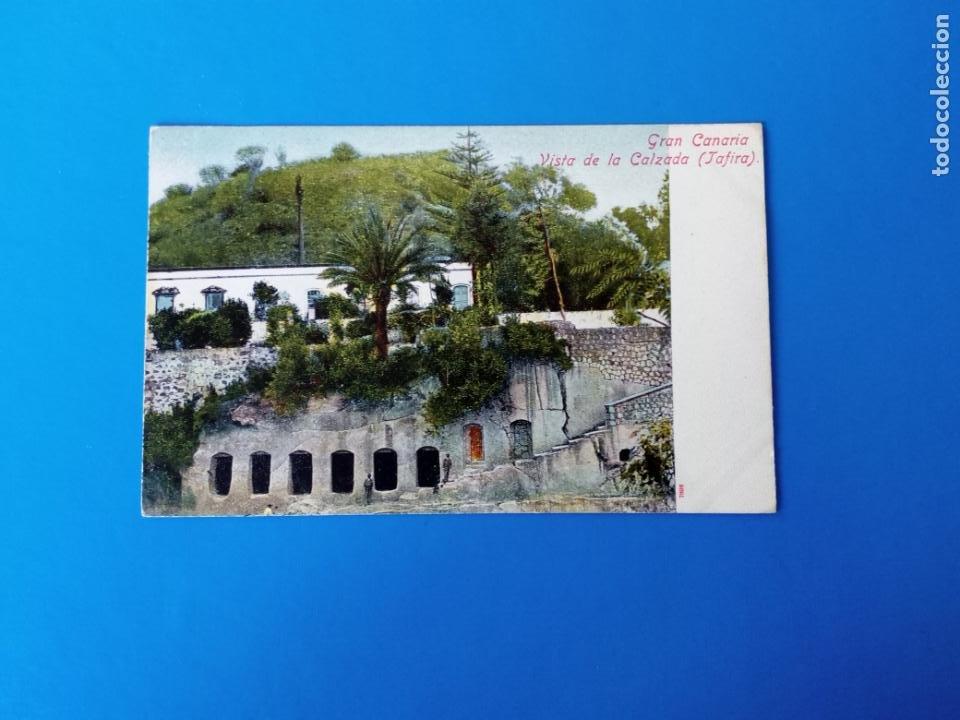 TARJETA POSTAL LAS PALMAS DE GRAN CANARIA - VISTA DE LA CALZADA TAFIRA (Postales - España - Canarias Antigua (hasta 1939))