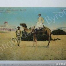 Postales: LAS PALMAS. GRAN CANARIA. CAMELLO. LAS PALMAS. J. PERESTRELLO PHOTO. Lote 195329716