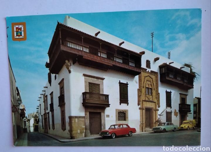 POSTAL 139 LAS PALMAS DE GRAN CANARIA CASA DE COLON ESCUDO DE ORO (Postales - España - Canarias Moderna (desde 1940))