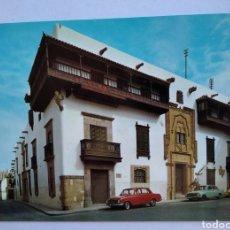 Postales: POSTAL 139 LAS PALMAS DE GRAN CANARIA CASA DE COLON ESCUDO DE ORO. Lote 195332865