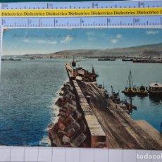 Postales: POSTAL DE GRAN CANARIA. AÑOS 10 30. MUELLE GRANDE PUERTO DE LA LUZ. RODRIGUES. 134. Lote 195343788