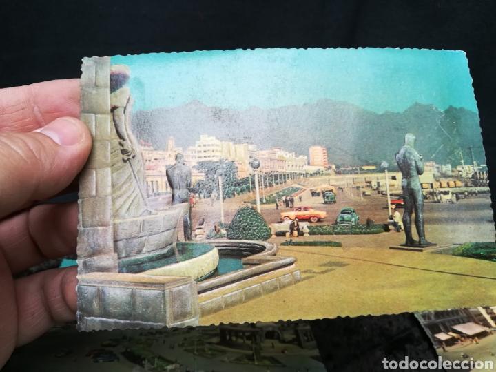 Postales: 5 postales antiguas en relieve de Tenerife - Foto 6 - 195432995
