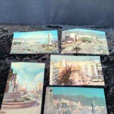 Postales: 5 POSTALES ANTIGUAS EN RELIEVE DE TENERIFE. Lote 195432995
