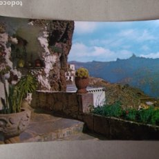 Postales: ARTENARA GRAN CANARIA UNA CUEVA MODELO. Lote 195451075