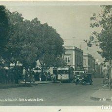 Postales: SANTA CRUZ DE TENERIFE. CALLE DE IMELDO SERÍS. TRANVÍA.HACIA 1920. POSTAL EXPRES.. Lote 195499810