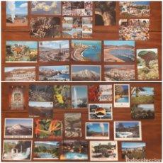 Postales: LOTE 37 POSTALES VARIADAS CANARIAS TENERIFE EL TEIDE LAS PALMAS LANZAROTE. Lote 195505337