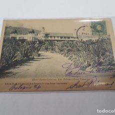 Postais: TARJETA POSTAL ANTIGUA LAS PALMAS - CANARIAS - GRAN CANARIA HOTEL SANTA CATALINA. Lote 196271451