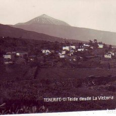 Cartoline: TENERIFE - EL TEIDE DESDE LA VICTORIA JG Nº 35. Lote 196450131