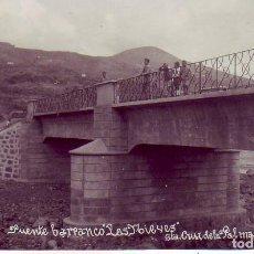 Cartoline: TENERIFE - LA PALMA - SANTA CRUZ - BARRANCO LAS NIEVES. Lote 196567980