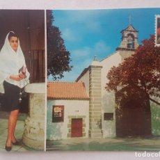 Postales: SAN TELMO LAS PALMAS CANARIAS IGLESIA Y DEVOTA POSTAL. Lote 197392386