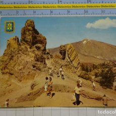 Postais: POSTAL DE TENERIFE. AÑO 1965. LAS CAÑADAS DEL TEIDE, TURISTAS. 27 ESCUDO ORO. 2650. Lote 197636627