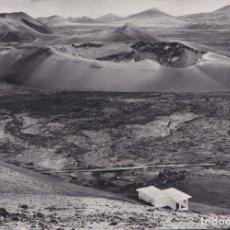 Postales: LANZAROTE (ISLAS CANARIAS) - REFUGIO MONTAÑAS DE FUEGO. Lote 197660442
