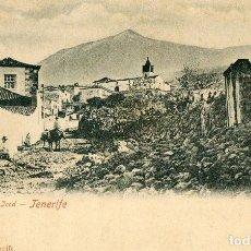 Postales: POSTAL ANTIGUA -EL TEIDE DESDE JCOD -TENERIFE. Lote 199244351
