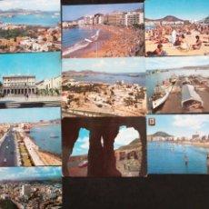 Postales: LAS PALMAS DE GRAN CANARIAS, LOTE DE 10 POST.. Lote 200726062
