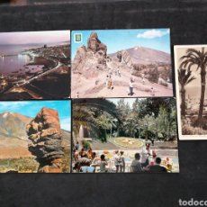 Postales: SANTA CRUZ DE TENERIFE, LOTE DE 5 POST.. Lote 200727270