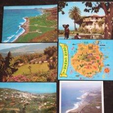 Postales: GRAN CANARIA, ISLAS CANARIAS, LOTE DE 6 POST.. Lote 200730098