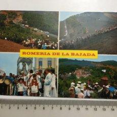 Postales: POSTAL. ISLA DE HIERRO. CANARIAS. MOTIVOS DE LA ROMERÍA DE LA BAJADA. POSTALES FAMA.. Lote 202717346