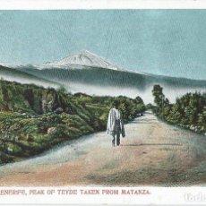 Postais: TENERIFE PEAK OF TEYDE TAKEN FROM MATANZA EDITOR NOBREGA´S ENGLISH BAZAR Nº 6. Lote 202819488