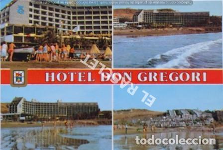 ANTIGÜA FOTO POSTAL DE GRAN CANARIA - HOTEL DON GREGORI - CIRCULADA AÑO 1986 (Postales - España - Canarias Moderna (desde 1940))