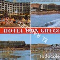 Postales: ANTIGÜA FOTO POSTAL DE GRAN CANARIA - HOTEL DON GREGORI - CIRCULADA AÑO 1986. Lote 202947335