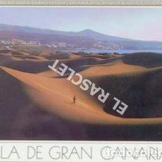 Postales: ANTIGÜA FOTO POSTAL DE GRAN CANARIA - PLAYA DEL INGLES - CIRCULADA AÑO 1988. Lote 202947445