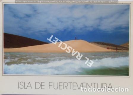 ANTIGÜA FOTO POSTAL DE FUERTEVENTURA- JANDIA - CIRCULADA AÑO 1991 (Postales - España - Canarias Moderna (desde 1940))