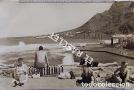 ANTIGÜA FOTO POSTAL DE TENERIFE - PLAYA - SIN CIRCULAR (Postales - España - Canarias Moderna (desde 1940))