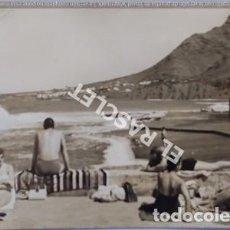 Postales: ANTIGÜA FOTO POSTAL DE TENERIFE - PLAYA - SIN CIRCULAR. Lote 202948435