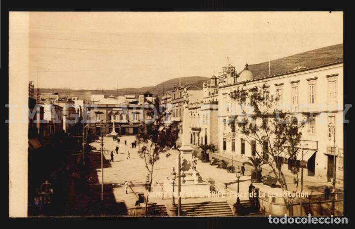 ESPAÑA TENERIFE PLAZA DE LA CONSTITUCIÓN TARJETA POSTAL TIPO FOTO JG N°33 (Postales - España - Canarias Antigua (hasta 1939))