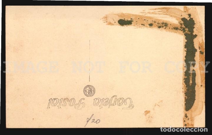 Postales: ESPAÑA TENERIFE PLAZA DE LA CONSTITUCIÓN tarjeta postal tipo foto JG N°33 - Foto 2 - 203095176
