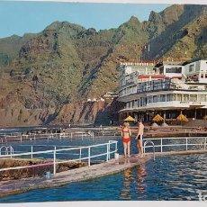 Cartes Postales: ANTIGUA POSTAL DE TENERIFE. BAJAMAR. HOTEL NAUTILUS. Lote 203906082
