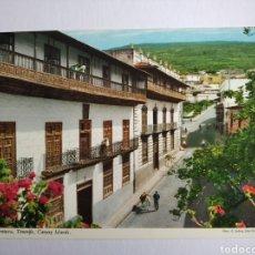 Postales: POSTAL LA OROTAVA TENERIFE CANARIAS CASAS SEÑORIALES LOS BALCONES JOHN HINDE. Lote 204001157