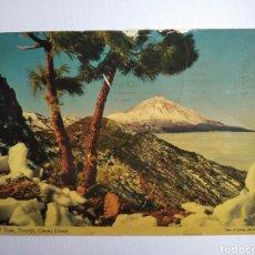Postales: POSTAL TENERIFE EL TEIDE ISLAS CANARIAS JOHN HINDE. Lote 204003563