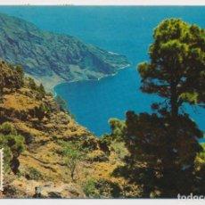 Postales: PAISAJE, LAS CASAS, HIERRO (ISLAS CANARIAS). 1967. CIRCULADA CON TIMBRES. Lote 204274316