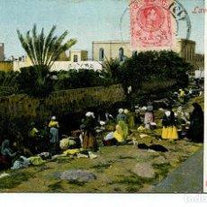 Postales: LAS PALMAS- MUJERES LAVANDERAS-AÑO 1910. Lote 204718731
