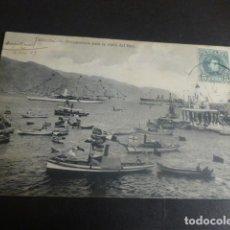 Postales: TENERIFE PREPARATIVOS PARA LA VISITA DEL REY. Lote 204840740