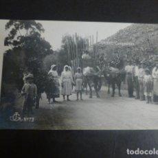 Postales: TENERIFE CAMPESINOS. Lote 204840907