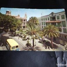 Postales: POSTAL LAS PALMAS DE GRAN CANARIA AUTOBUS AÑOS 60. Lote 205070881