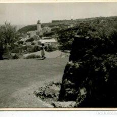Postales: TENERIFE- CANDELARIA VISTA PARCIAL-FOTOGRÁFICA AÑO 1956-MUY RARA. Lote 205206307