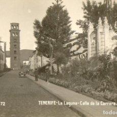 Postales: TENERIFE- LA LAGUNA -CALLE DE LA CARRERA- NUMERO 72. Lote 205442787