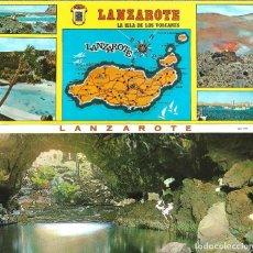 Postales: LANZAROTE - BLOC DE 10 POSTALES - EDITA - SILVA. Lote 205443691