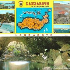 Postales: LANZAROTE - BLOC DE 10 POSTALES -. Lote 205475660