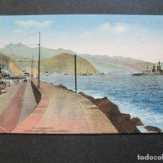 Postales: SANTA CRUZ DE TENERIFE-EL PUERTO-BARCO-POSTAL ANTIGUA-(70.603). Lote 205728921