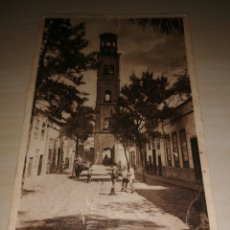 Postales: ANTIGUO POSTAL SANTA CRUZ DE TENERIFE - TORRE DE LA CONCEPCIÓN. Lote 206179808