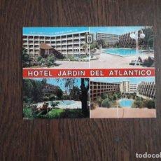 Postales: POSTAL DE ESPAÑA, HOTEL JARDÍN DEL ATLÁNTICO, PLAYA DEL INGLES. GRAN CANARIA.. Lote 206298937