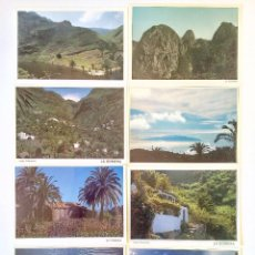 Postales: LOTE 8 POSTALES. PAISAJES, LA GOMERA (ISLAS CANARIAS). AÑOS 80-90. SIN CIRCULAR.. Lote 207114687
