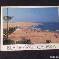 Postales: CANARIAS-V49-CIRCULADA-PLAYA DE MASPALOMAS. Lote 207377000