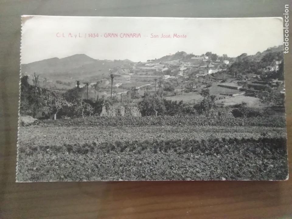 Postales: POSTAL GRAN CANARIA- SAN JOSE, MONTE - Foto 3 - 155463174
