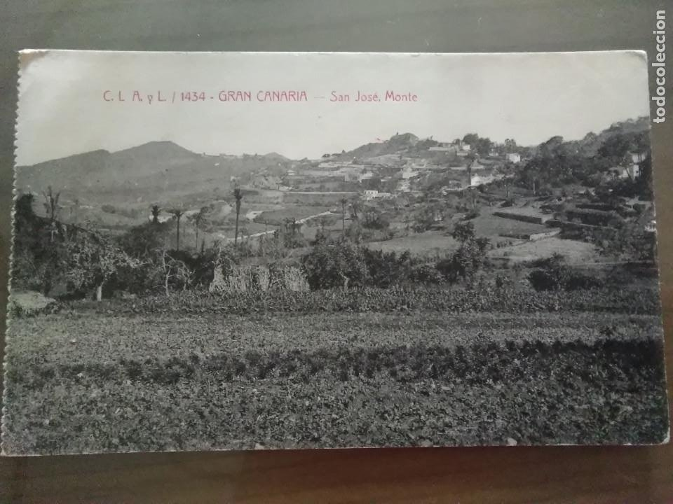 Postales: POSTAL GRAN CANARIA- SAN JOSE, MONTE - Foto 6 - 155463174