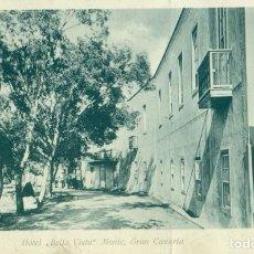Postais: GRAN CANARIA HOTEL BELLAVISTA MONTE CIRCULADA EN 1904. MARCA PAQUEBOT LIVERPOOL.. Lote 207425107